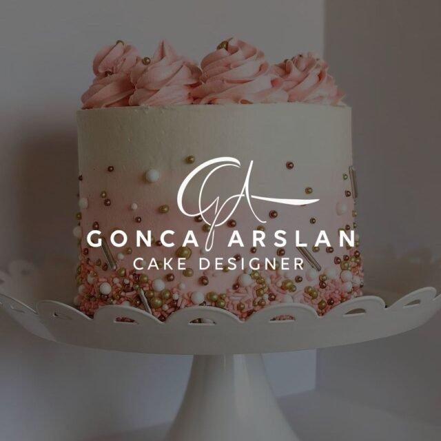 Butik Pasta kek tasarımı logosu