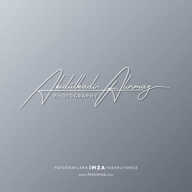 Abdülkadir imza logo
