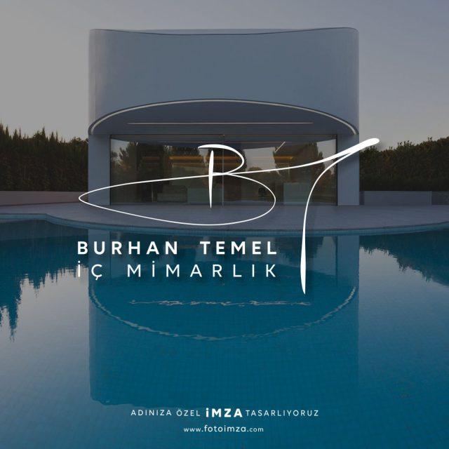 Mimarlık isme özel imza logo tasarımı